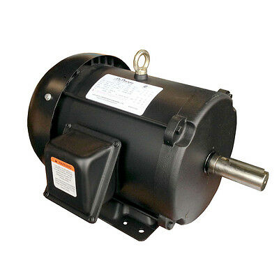 Ingersoll rand 7 5 hp 1p compressor motor 230 23172604 for 7 5 hp 3 phase motor