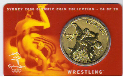 2 of 28 2000 $5 RAM UNC Coin Sydney Olympic Coin NO OUTER COVER Aquatics