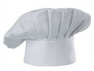 Chef Hat Cloth One Size Fit All Closure