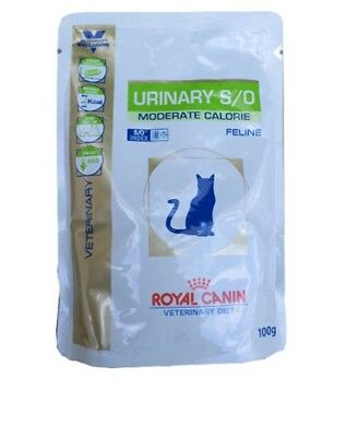 48x100g Royal Canin Urinary S/O Moderate Calorie Frischebeutel Veterinary Diet