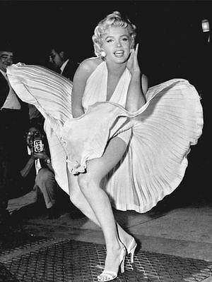 ICON! MARYLIN MONROE SKIRT POSTER PRINT WALL ART SIZE A1 /A2 /A4 (v2)