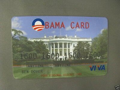 The OCARD! by VIVA The OBAMA BAILOUT Parody Credit Card
