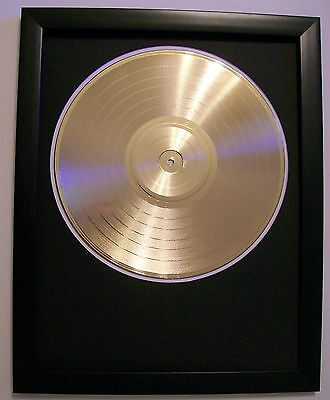 Blank Gold Plated LP Album Record  Vinyl Music Award Trophy to Custom  Quality