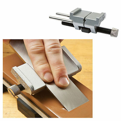 Honing Guide for Sharpening Blades and Irons on Stones, Hone Holder Jig, Honeing