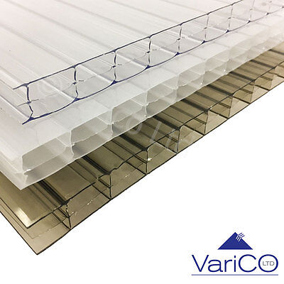 16mm Polycarbonate Sheet - Various Sizes & Colours Available