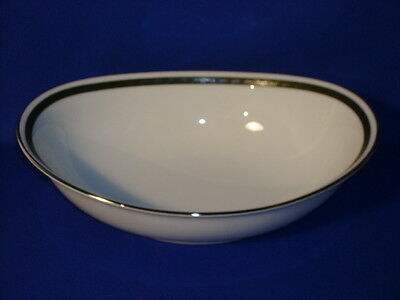 Noritake China Horizon Pattern Oval Vegetable Bowl 10""