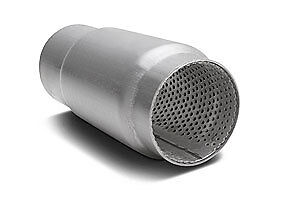 Dynomax 24251 Race Bullet Muffler In/Out: 3.5''
