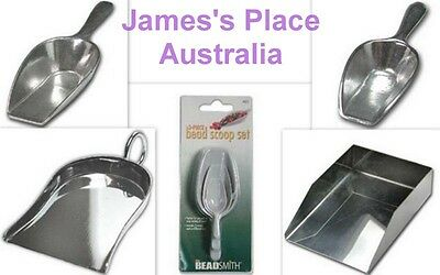 Craft & Bead Scoops & Shovels - various styles & sizes