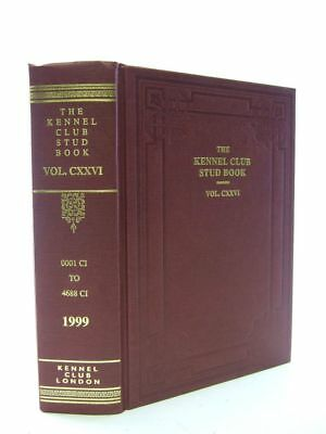 The Kennel Club Stud Book For The Year 1998 Vol Cxxvi.