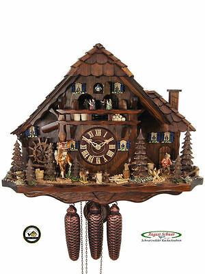 Black Forest Cuckoo Clock 8-Day Black Forest Farming Estate