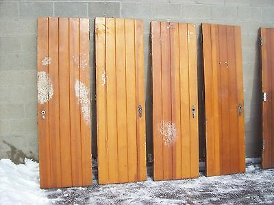 "1 available Pine log cabin doors narrow 24""(LCD 1)"