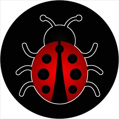 Ladybug Spare Tire Cover  Wheel Cover Jeep RV Camper Trailer (all sizes avail)
