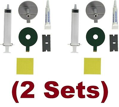 Windshield Repair Kit 2 Blue-Star Do It Yourself A Stone/chip Fix Damage Glass