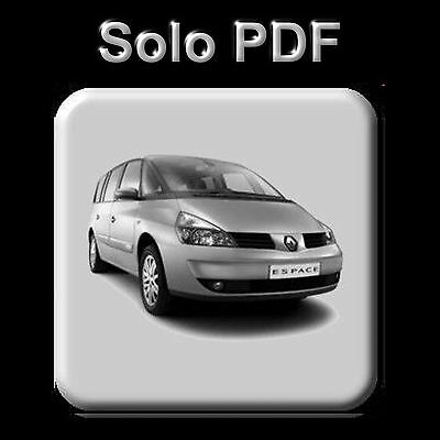 Renault Espace Iv - Manual De Taller - Workshop Manual - Manuel Reparation