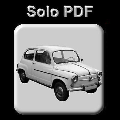 Seat 600 - Manual De Reparacion - Taller - Despiece