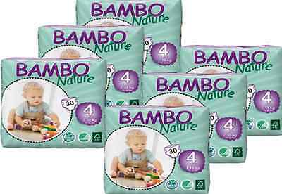 LOT 180 COUCHES ECOLOGIQUES  BAMBO NATURE T4  MAXI  absorption identique PAMPERS