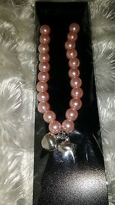 PINK PEARL PET Dog JEWELLERY FOR CATS OR SMALL DOGS