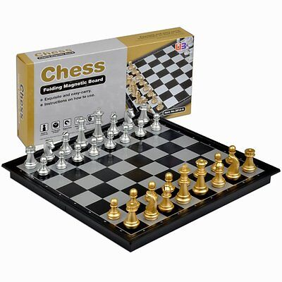 Travel Magnetic Chess Set, Free Shipping, New
