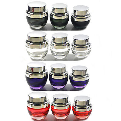 Moisturizing Lotion Grandeur Gorgeous Bottle Jar Pot Box Empty Split Charging