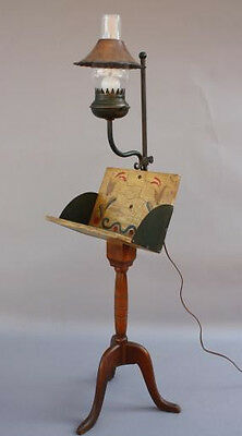 1930s California Rancho Monterey Furniture Period Book Stand & Floor Lamp (5995)
