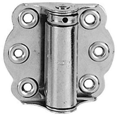 "Stanley 788855 Screen Door Spring Hinges, Mechanical Galvanized, 2-3/4"" x 2-15/1"