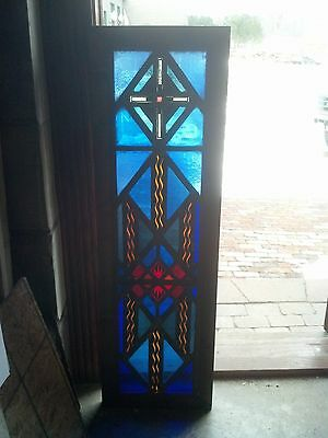 Vibrant spiritual stained glass window   (SG 1605)