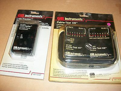 gb instruments lan-tracker and cable-test XR. new in box. get-4200t get-4040