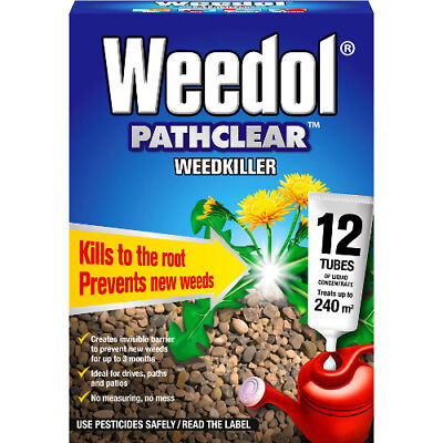 Scotts Weedol Pathclear Weedkiller 12 Tubes