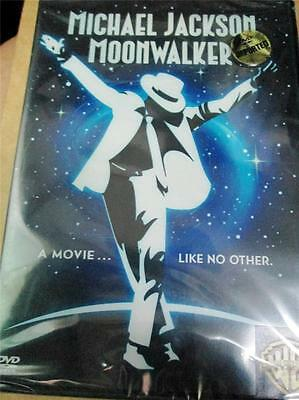 MICHAEL JACKSON MOONWALKER ORIGINAL DVD MOVIE SEALED R1 R2 R3