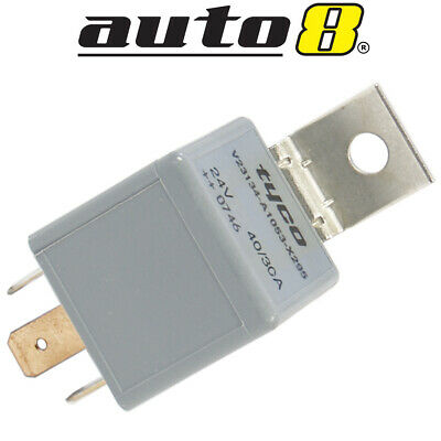 Automotive Relay 24V Change Over 30Amp N/O 40Amp N/C 5 Pin Resistor Protected