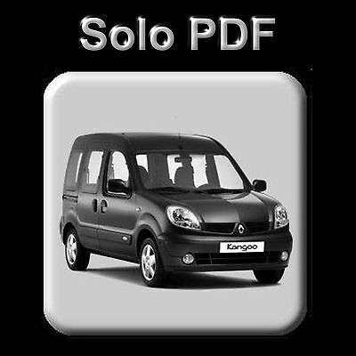 Renault Kangoo - Manual De Taller - Workshop Manual - Manuel Reparation
