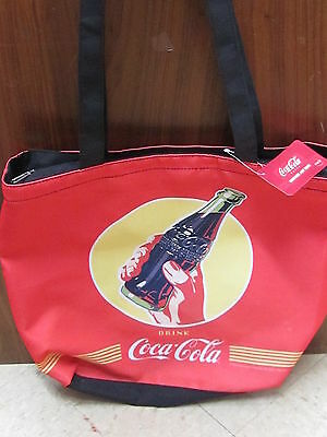 Coca-Cola Large Polyester Tote Bag - NWT