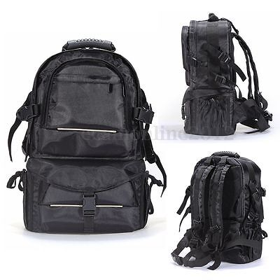 Multifunctional Travel Backpack Padded Camera Case Bag For DSLR Canon Nikon Sony