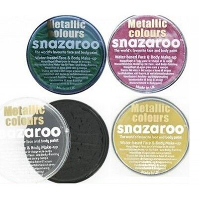 MAKEUP SNAZAROO Truccabimbi body face paint 18ml METAL Z18M
