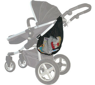 Baby Stroller Pram On-the-go Toys Diaper Storage Net Bag - Accessories
