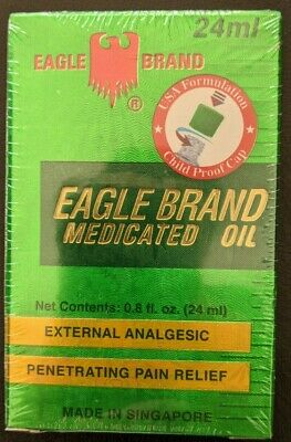 4 Dau xanh con o Medicated Oil Eagle Brand 4 bottles of 24 mL