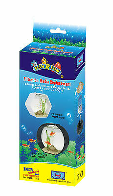 2 X Aquarium Filter Spare Replacement Media Fish R Fun Hex & Deco Tank Frf-Hex/m