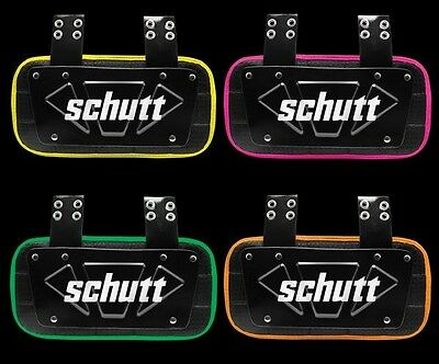 SCHUTT YOUTH BACK PLATE - NEW NEON COLORS - FAST, FREE SHIPPING!