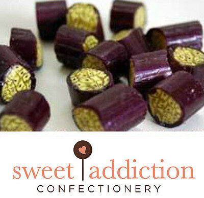 3kg Passionfruit Rock - Bulk Wedding Boiled Lollies Candy Buffet Sweet Addiction