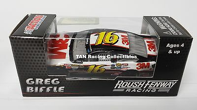 Greg Biffle 2014 Lionel/Action #16 3M Ford Diecast 1/64 FREESHIP