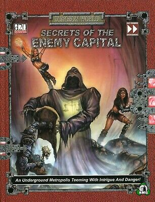 d20: Secrets of the Enemy Capital (HC) (New)