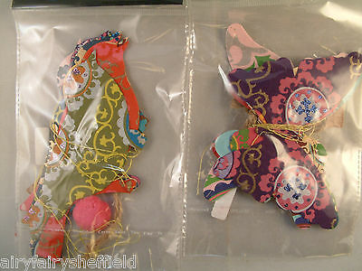 BIRD or BUTTERFLY mobile hanging paper folksy vintage 160cm  (is-tb099/085)