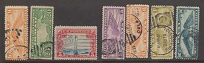(RW46) 1920-60 USA 35 airmail stamps