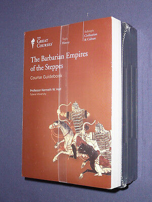 Teaching Co Great Courses DVDs     BARBARIAN EMPIRES of the STEPPES   + bonus