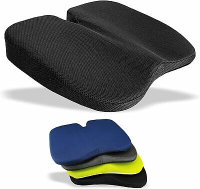 MEDIPAQ™ Coccyx Relief Wedge Seat Cushion - Car Back Pain Ache Lumbar Support