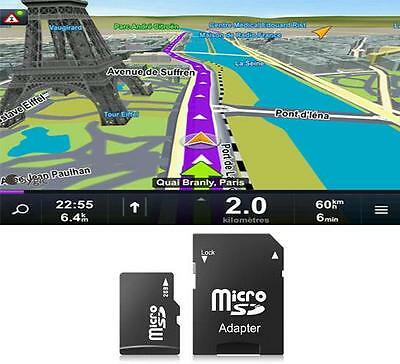 Cartes GPS Sygic 3D Europe de L'ouest, de l'Est, Amérique license officielle