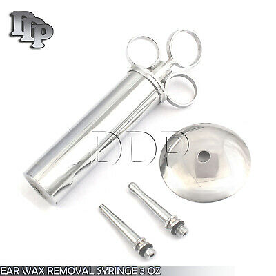 Metal EAR Syringe 3 oz Veterinary Surgical Instruments