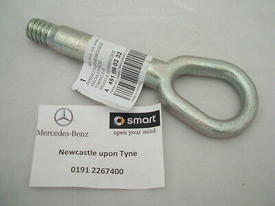 Genuine Smart Car (451) Fortwo Metal Tow Hook SA4518990232 NEW!