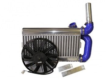 Ford Fiesta RS Turbo Airtec Stage 1 Front Mount Alloy Intercooler Kit and Fan