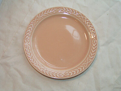 "Vintage Laurella PEACH bread butter Plate dish 6.5"" UNIVERSAL POTTERY"